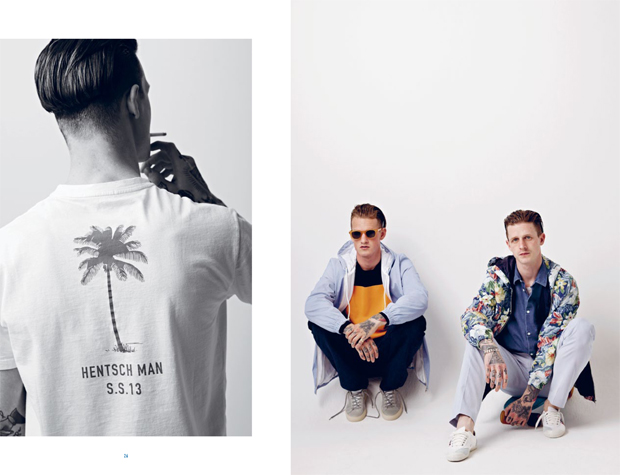 Hentsch Man Spring Summer 2013 Lookbook 15