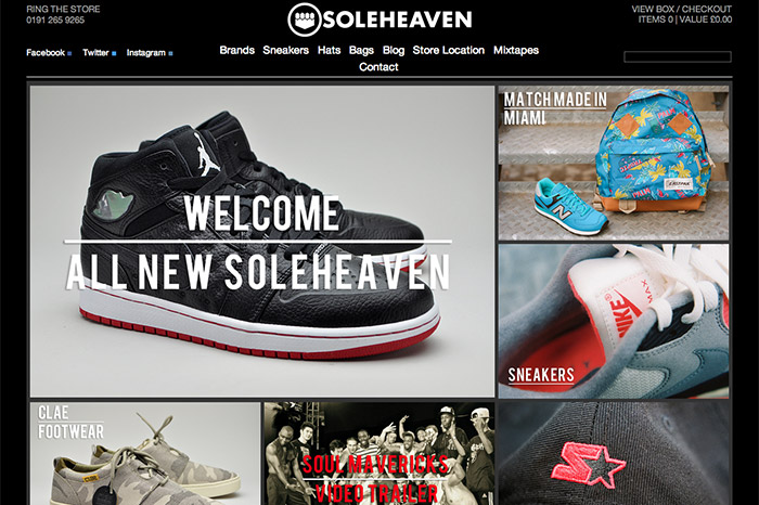 cb07c8baa2b9a SoleHeaven launch new website (20% Discount Code)