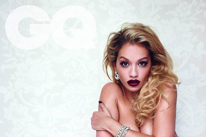 Rita Ora covers August 2013 issue British GQ 01