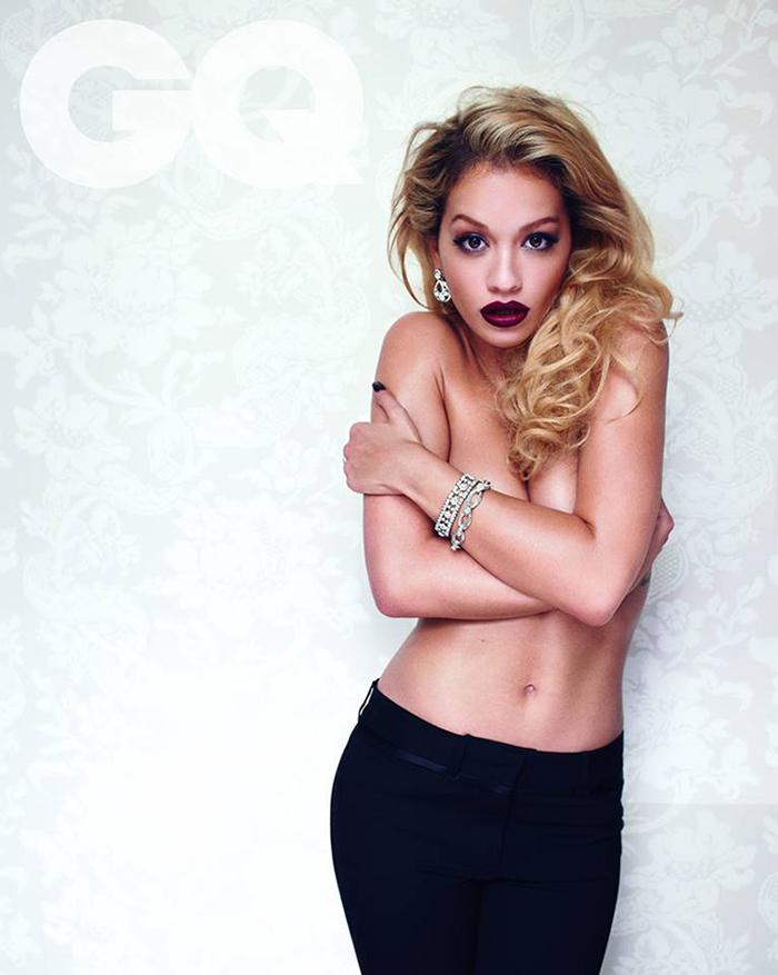 Rita Ora covers August 2013 issue British GQ 03