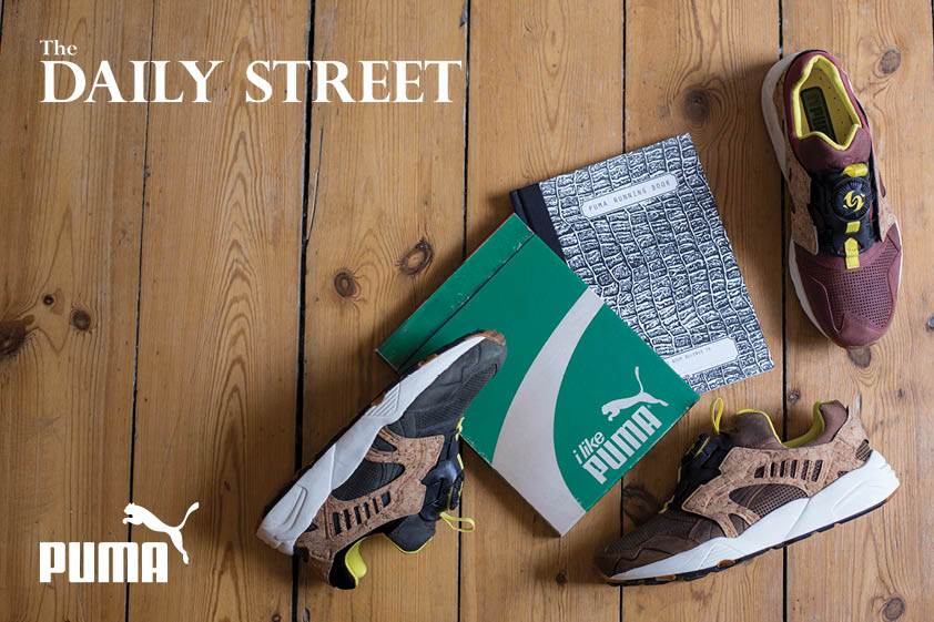 Competition Win SneakerFreaker PUMA Running Book MMQ Leather Disc Cage Cork Pack The Daily Street 01
