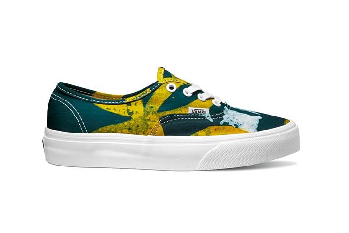 c30690c27e Vans-x-Della Authentic Batik Yellow ...