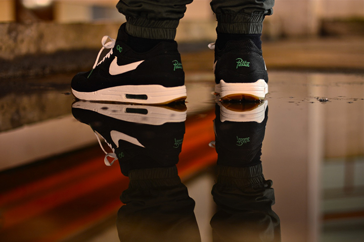 Patta Nike Air Max 1 black 2009