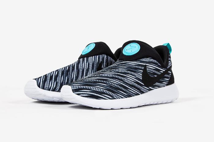 74ed9d7af7c9 Nike Roshe Run Slip On GPX (Black White)