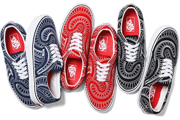 Supreme Vans Spring 2014 collection Era 001