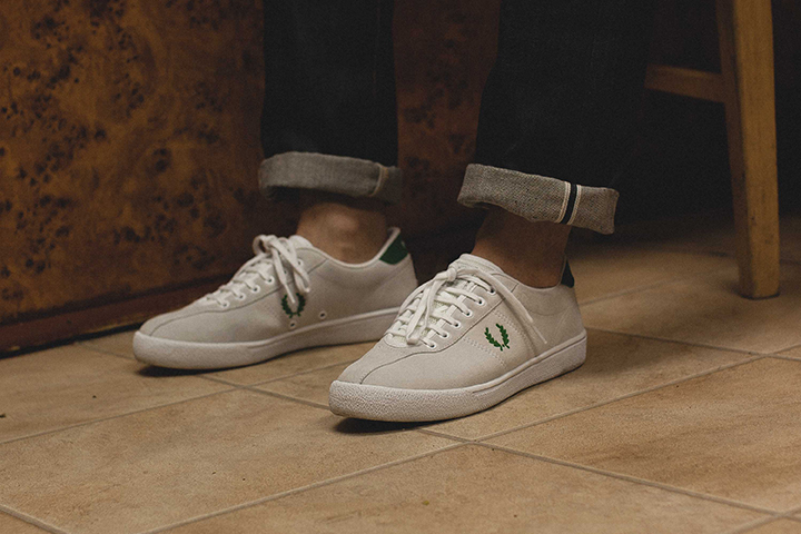 Fred Perry 1934 re-issue footwear collection Firmament
