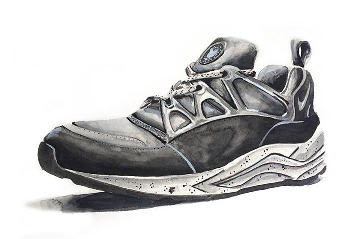 sports shoes bff24 34b9c Footpatrol Nike Air Huarache Light Concret Achildcolor painting 01