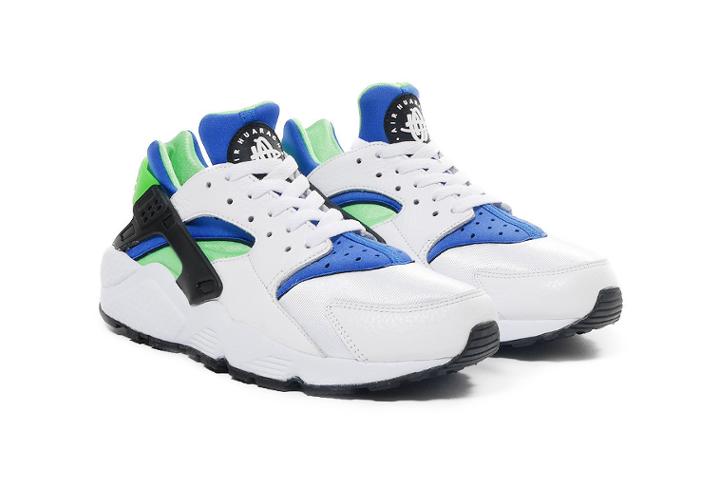 Nike-Air-Huarache-Scream-Green-UK-2014-Release-1