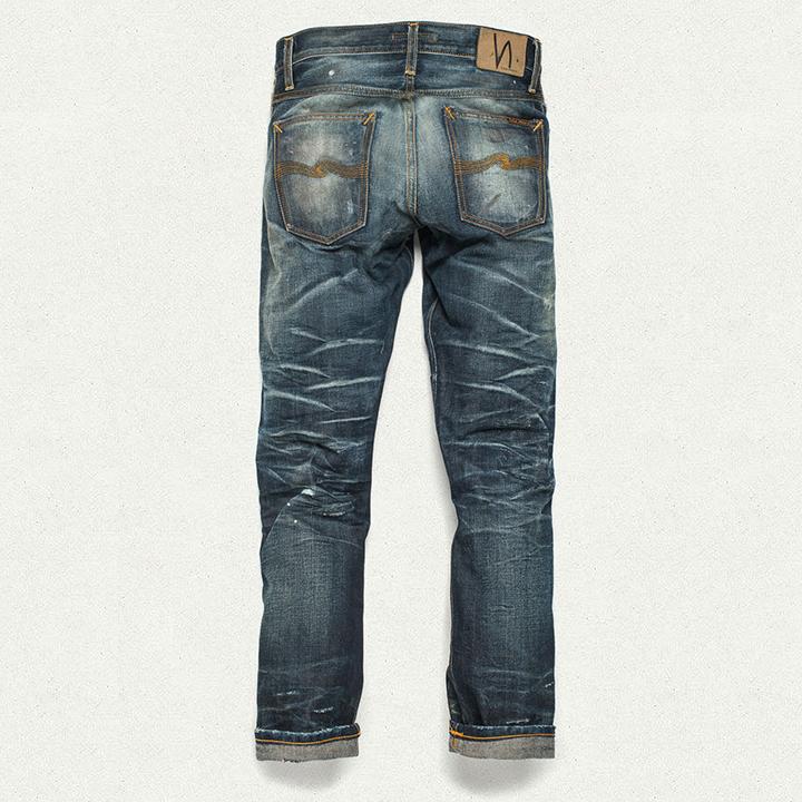 Nudie Jeans Grim Tim Stone Mason Replica 005
