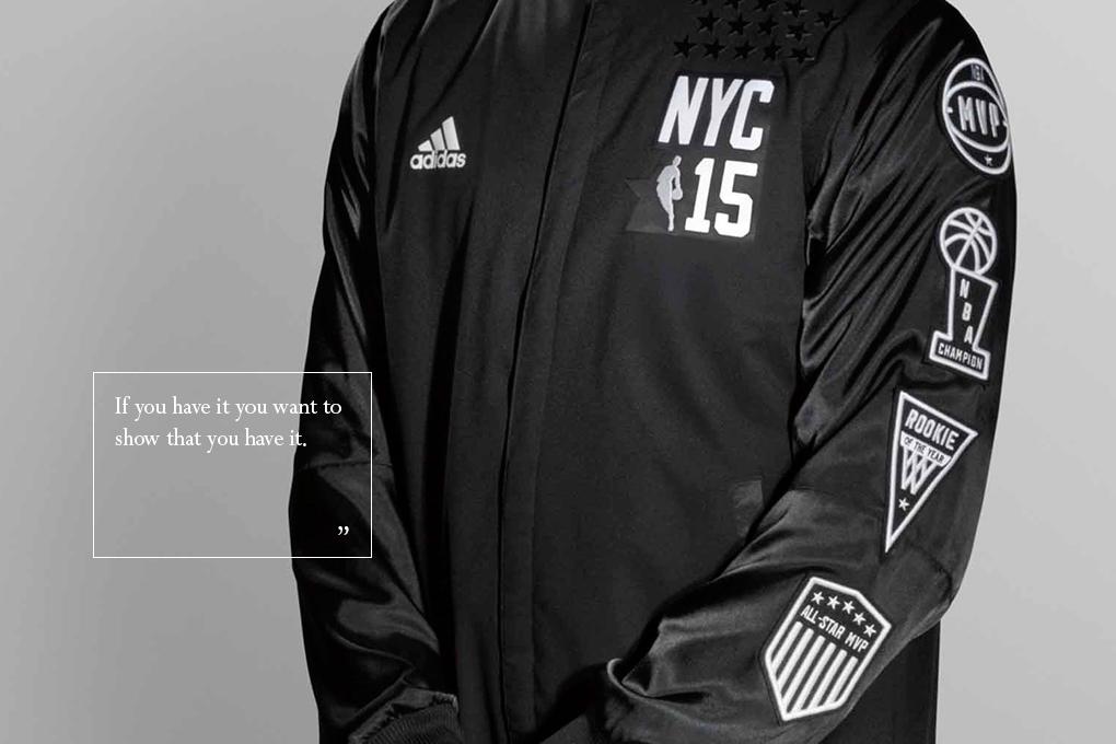 Interview Christopher Arena NBA David Cho adidas 2015 All-Star uniform designs 03