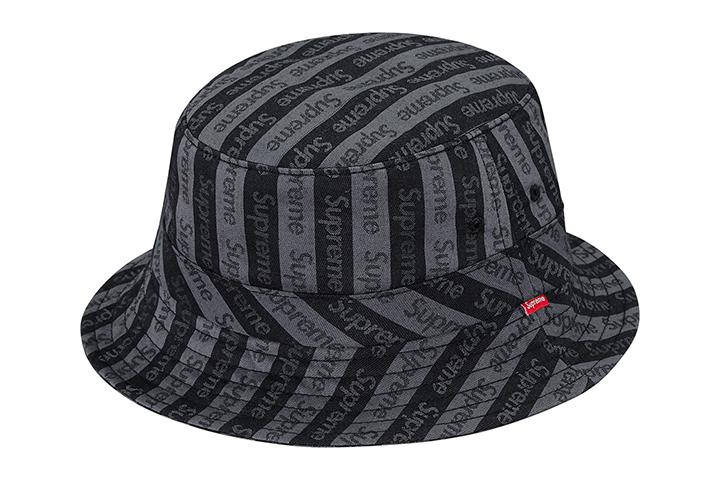 ca64295ec89 Supreme Jacquard Logo Crusher Bucket Hat 02 ...