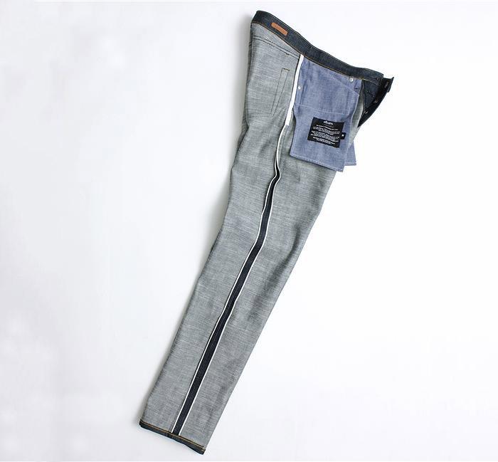 albam limited edition pink selvedge denim jeans 03