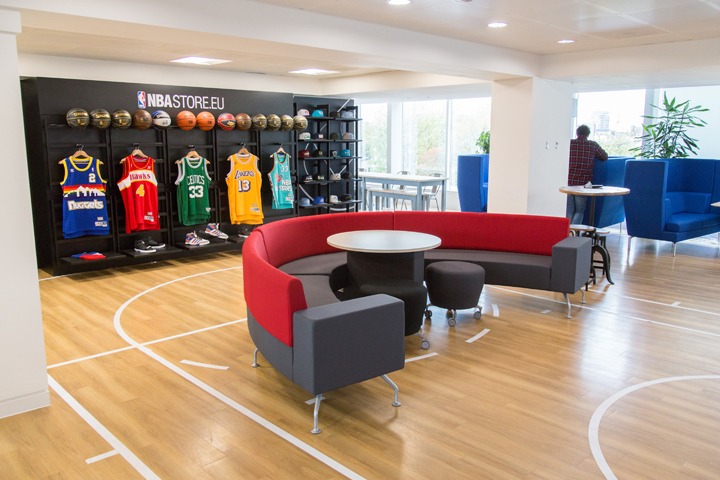 NBA Europe head quarters London The Daily Street 10