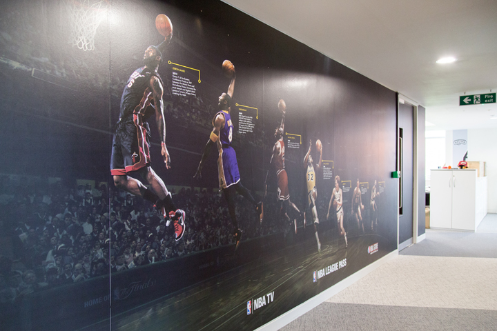 NBA Europe head quarters London The Daily Street 26