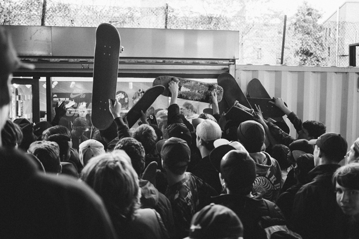 Primitive skateboards London demo BaySixyty6 The Daily Street 06