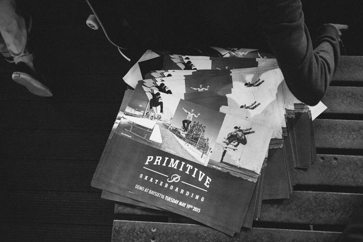 Primitive skateboards London demo BaySixyty6 The Daily Street 07