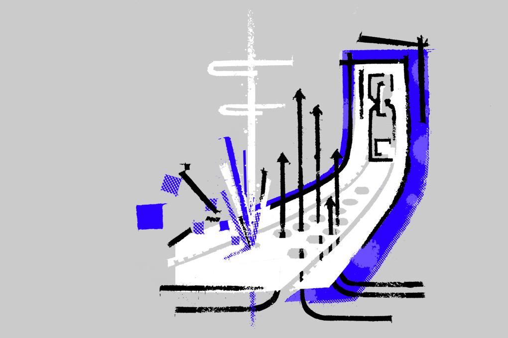 Nike Tech Hyperfuse Windrunner illustrations by Ryan Gillett for The Daily Street 04