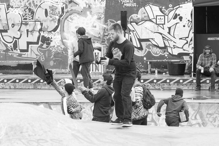 Recap adidas Skateboarding BOOST THE BAR Mile End London-13