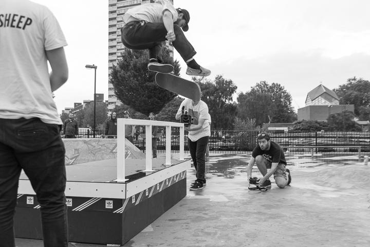 Recap adidas Skateboarding BOOST THE BAR Mile End London-8
