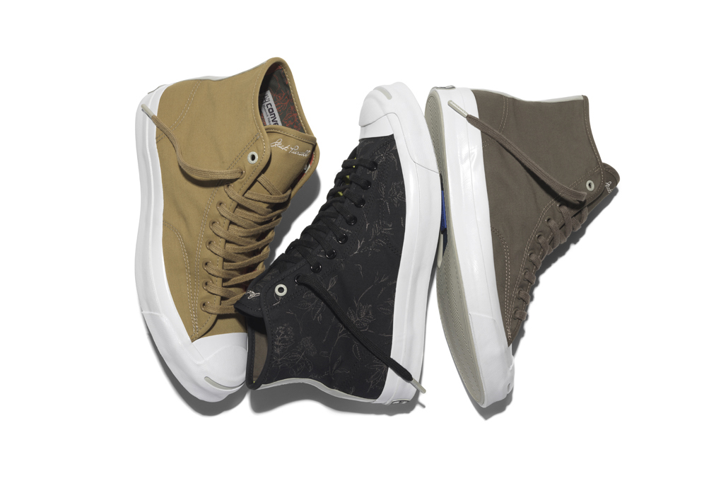 Hancock Vulcanised Articles Converse First String Jack Purcell Signature Hi 01