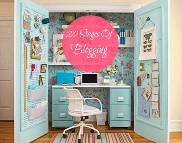 20 Stages Of Blogging