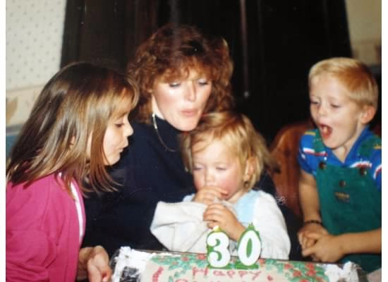 A Post Written By My Mom On Her 30th Birthday