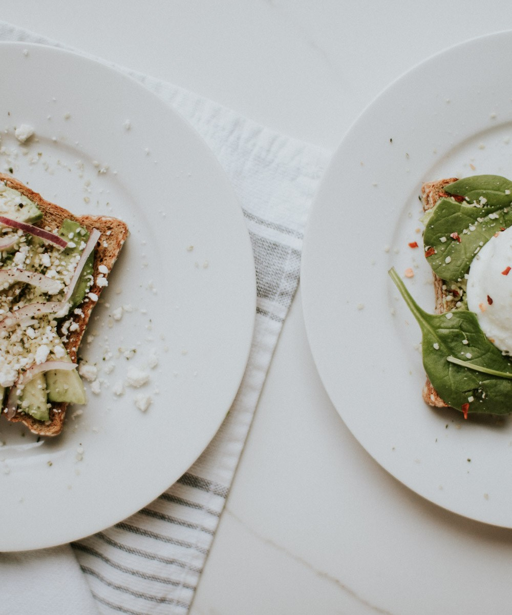 Avocado Toast 2 Ways