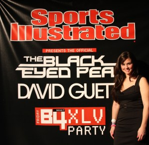 Sports Illustrated/Black Eyed Peas Super Bowl Party by Nivea