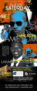 Super Saturday with Jamie Foxx