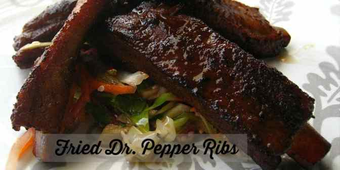 Dr. Pepper Fried RIbs Recipe