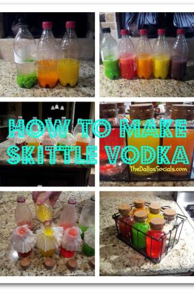How to Make SkittIe Vodka
