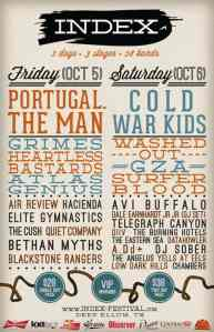Index Festival: 2 Days, 3 Stages, 28 Bands
