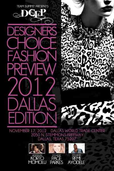 Giveaway: Designers Choice Fashion Preview Info & Tickets