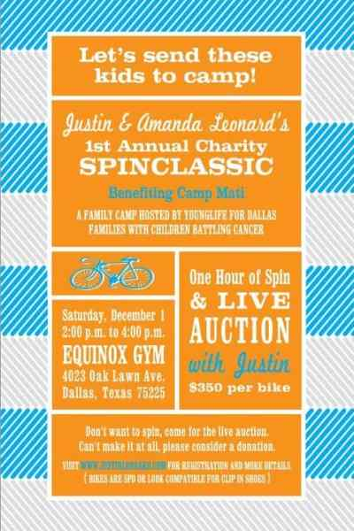 SPINCLASSIC Benefitting Camp Mati at Equinox