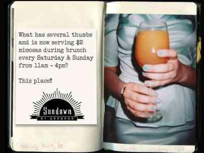 granada, dallas brunch, mimosas