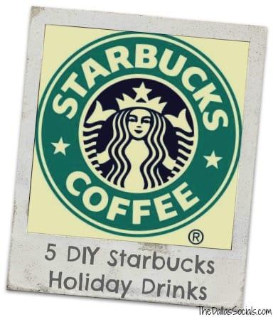 5 DIY Starbucks Holiday Drinks