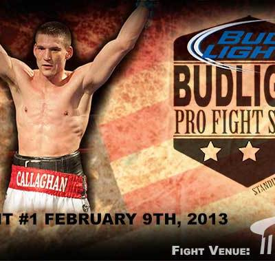 Bud Light Pro Fight Series on February 9th