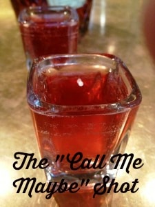 "The ""Call Me Maybe"" Shot Recipe"