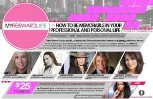 How to be Memorable in your Professional and Personal Life Event for Women
