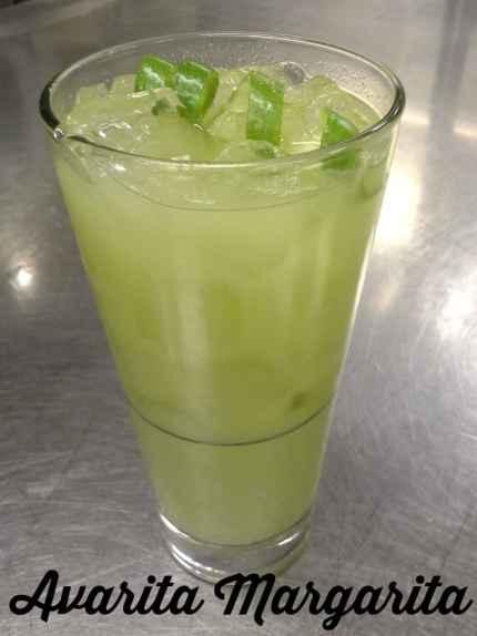 The Avarita Margarita Recipe