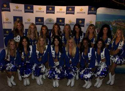 Dallas Cowboy Cheerleaders Shoot 2014 Calendar at the Iberostar Cozumel