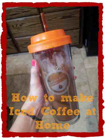 How to make Iced Coffee at Home #diy #coffee
