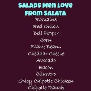 Salads Men Love from Salata