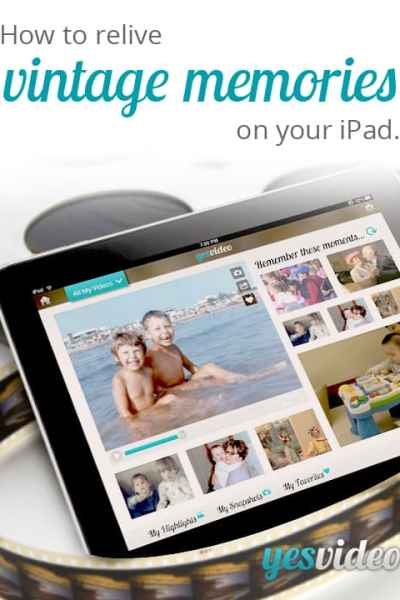 YesVideo Brings Life Back to Your Photos and Videos + Giveaway