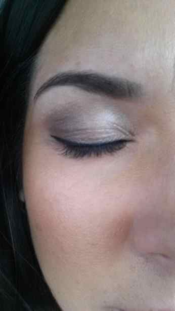 Eye Make up done by Blushington Dallas