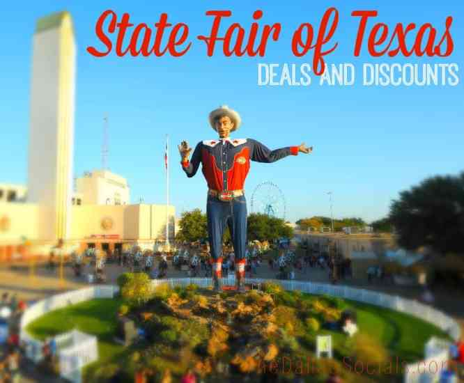 State Fair of Texas Deals and Discounts