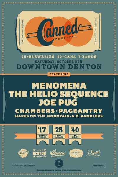 Canned Fest (Denton) Info + Giveaway!
