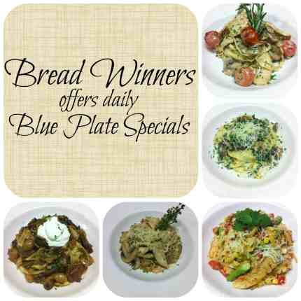 Bread Winners offers Daily Blue Plate Specials. #Dallas