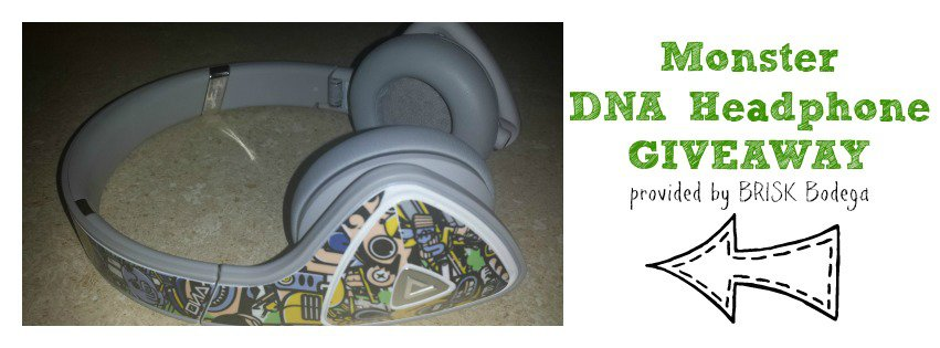 GIVEAWAY: Monster DNA Headphones provided by Brisk Bodega