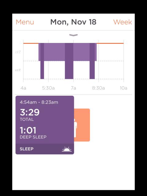 Misfit Shine tracks your sleep every night. #fitness #health